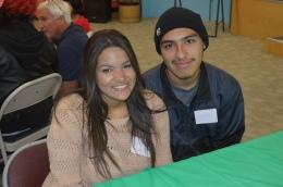 Samantha and Marvin at YoungLives December 2013