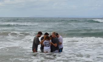 Samantha's Baptism 2 October 2015