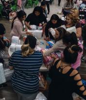 Voice Church Visits Santa Ana Club