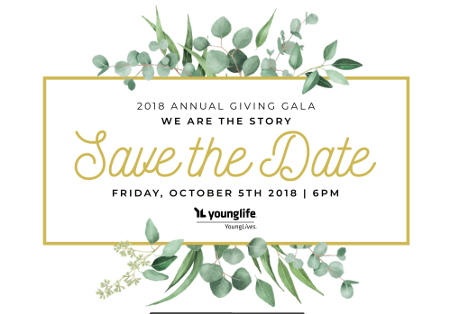 Save the date - Gala Dinner 2018
